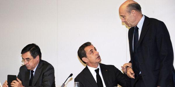 Sarkozy Juppé Fillon AFP 1280