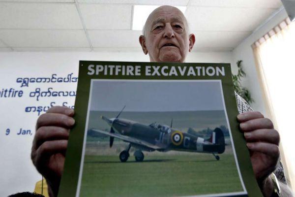 spitfire birmanie