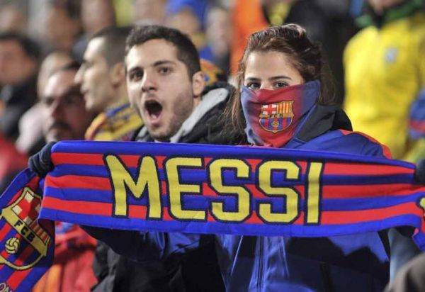 Supporters Messi