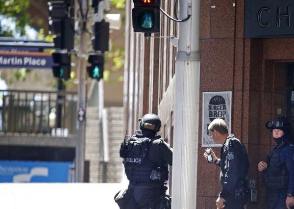 sydney, otages, lindt café