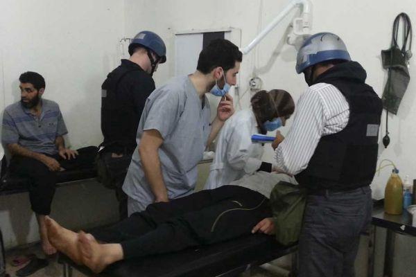 syrie armes chimiques visite ONU 930