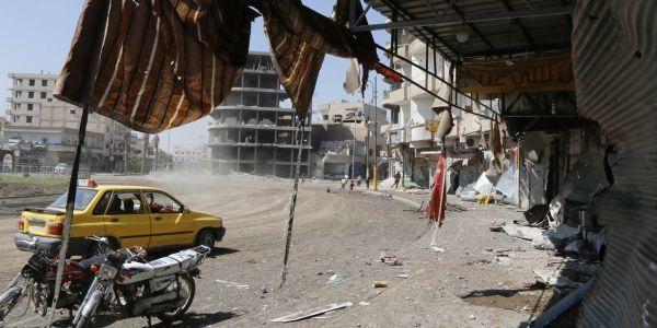 Syrie Etat islamique Raqqa 1280