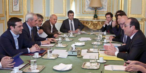 Table Hollande Tsipras