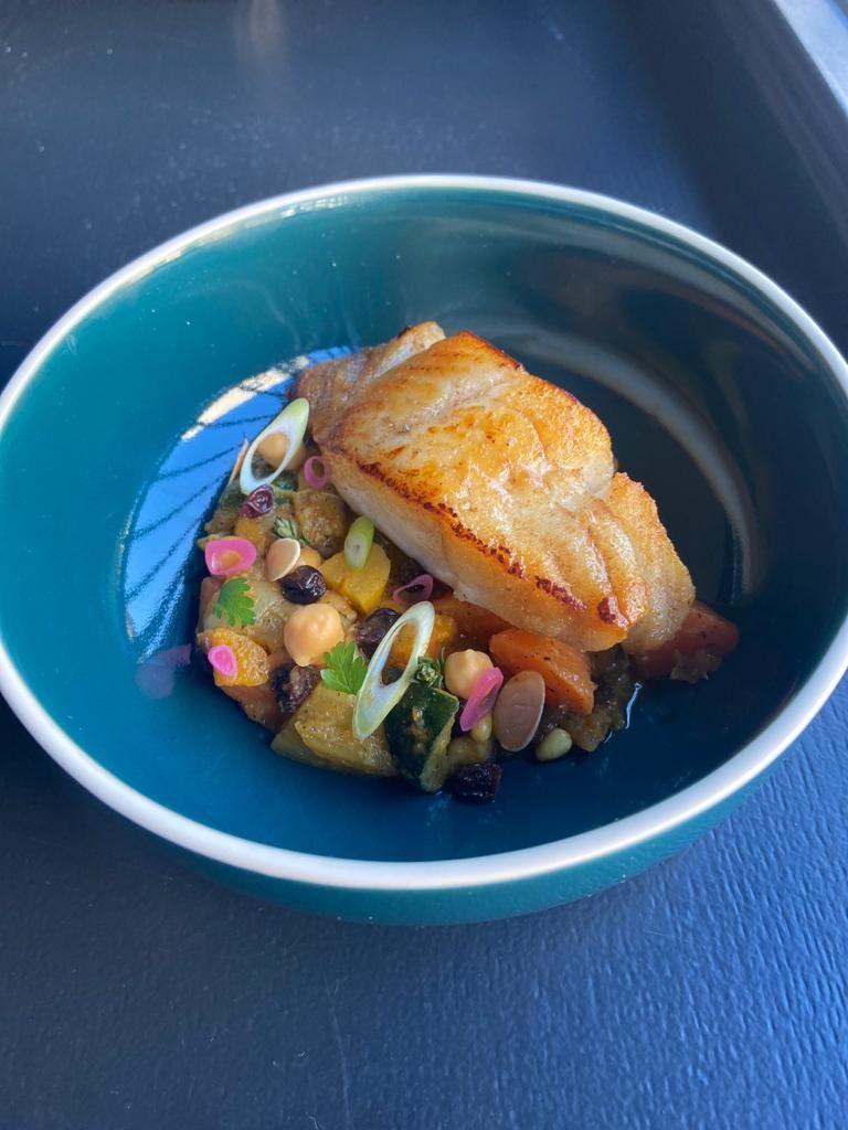 Tajine de poisson - CABANE - Chef BURY