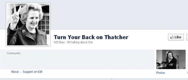 thatcher facebook