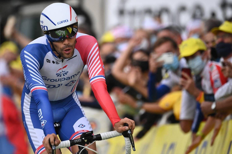 Thibaut Pino em setembro passado, durante o Tour de France.