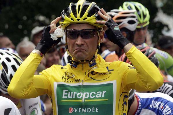 Thomas Voeckler en jaune à Carmaux, 930