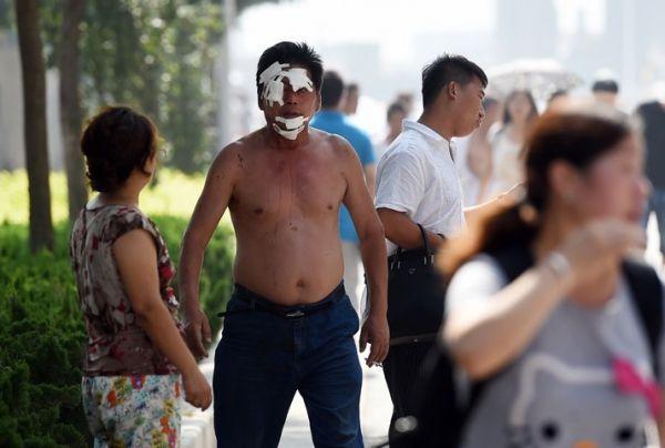 Tianjin GREG BAKER / AFP 714