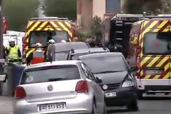 Toulouse, ambulance après l'assaut contre Merah