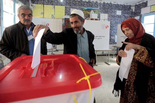 Vote en Tunisie, élections