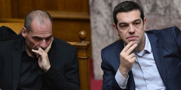 Yanis Varoufakis Alexis Tsipras