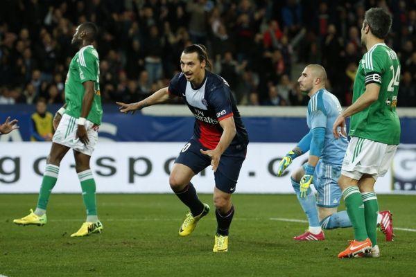 Zlatan Ibrahimovic, buteur face à Saint-Etienne (930x620)