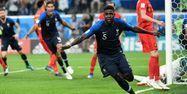 Samuel Umtiti buteur face à la Belgique (1280x640) CHRISTOPHE SIMON / AFP