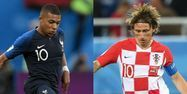 Montage Mbappé/Modric Coupe du monde 2018 (1280x640)  Montage GABRIEL BOUYS/OZAN KOSE/AFP
