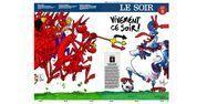 """Une du """"Soir"""" du 10/07/18 (1280x640) Le Soir"""