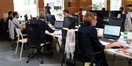 Employés open space 1280
