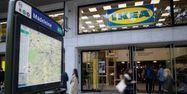 Ikea magasin centre ville Paris Madeleine Thomas SAMSON / AFP