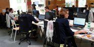Bureau entreprise employés 1280