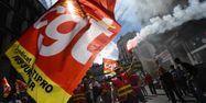 16.09.Manifestation loi travail CGT marseille syndicat.ANNE-CHRISTINE POUJOULAT  AFP.1280.640