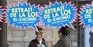 02.05.Loi Khomri manifestation affiche contestation.DOMINIQUE FAGET  AFP.1280.640