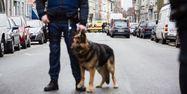 Un policier à Molenbeek, à Bruxelles, en Belgique, le 18 mars 2016.