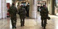 police militaires plan vigipirate gare paris JACQUES DEMARTHON / AFP