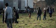 Migrants à Calais Philippe HUGUEN/AFP