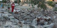 Alep Syrie hôpital bombardements 1280