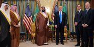 prince héritier saoudien Mohammed Ben Salmane Donald Trump Riyad Arabie saoudite Etats-Unis