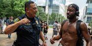 Art Acevedo chef de la police de Houston Texas SERGIO FLORES / GETTY IMAGES NORTH AMERICA / Getty Images via AFP