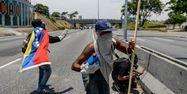 Venezuela manifestations anti Maduro Matias DELACROIX / AFP