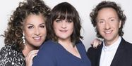 Marianne James, Lisa Angell et Stéphane Bern, la France à l'Eurovision 2015