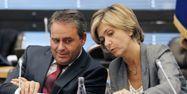 PATRICK KOVARIK / AFP xaver bertrand valerie pecresse