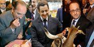 Chirac Sarkozy Hollande Salon de l'agriculture 1280