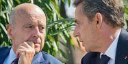 Juppé Sarkozy AFP 1280