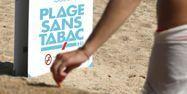 plage sans tabac cigarette 1280 PASCAL POCHARD-CASABIANCA / AFP