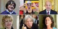 Cabu, Camille Muffat, Charles Pasqua, Sylvie Joly, André Glucksmann et Florence Arthaud, 1280x640
