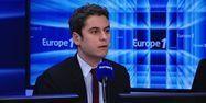 Gabriel Attal sur Europe 1.