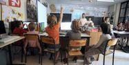 école classe élèves enfants