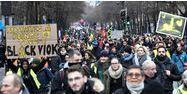 121.0000 manifestants en France selon le ministère de l'Intérieur