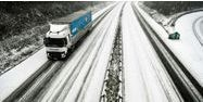 Camion Froid Neige Verglas Hiver