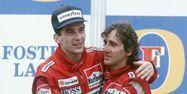 Ayrton Senna et Alain Prost en 1988 (1280x640) AFP