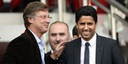 Sébastien Bazin avec Nasser Al-Kelaïfi (1280x640) FRANCK FIFE / AFP