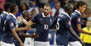 Karim Benzema avec les Bleus (1280x640) Valéry HACHE/AFP