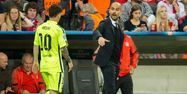 Lionel Messi et Pep Guardiola (1280x640) ODD ANDERSEN / AFP