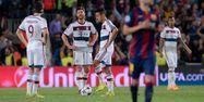 Joueurs du Bayern contre le Barça (1280x640) Josep LAGO/AFP