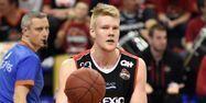 Rasmus Larsen, joueur du Spirou Charleroi (1280x640) Virginie LEFOUR/Belga/AFP