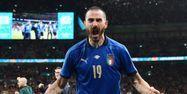 Leonardo Bonucci Italie Espagne Euro @JUSTIN TALLIS / POOL / AFP