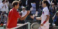 Richard Gasket Djokovic 1280 MIGUEL MEDINA / AFP