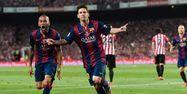 Messi buteur face à l'Athletic Bilbao (1280x640) Josep LAGO/AFP